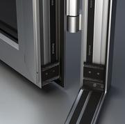 Алюминиевые двери - foto 0