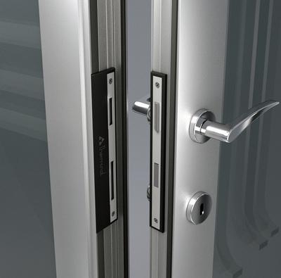 Алюминиевые двери - main