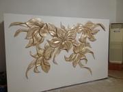 Декоративная штукатурка леонардо.Барельефы роспись стен - foto 2