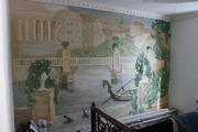 Декоративная штукатурка леонардо.Барельефы роспись стен - foto 5