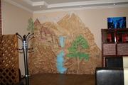 Декоративная штукатурка леонардо.Барельефы роспись стен - foto 7