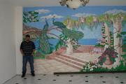 Декоративная штукатурка леонардо.Барельефы роспись стен - foto 8
