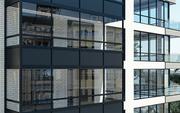 Алюминиевые фасады,  входные группы,  перегородки - foto 3