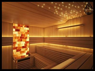 Декоративное освещение в сауне - main