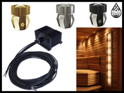 Комплекты освещения бани и сауны Cariitti для установки в потолке