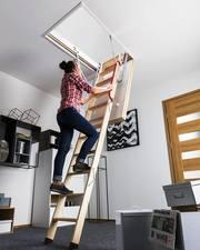 Чердачная лестница 60*94*280 купить в Stroykomfort в Алматы