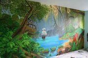 Декоративная штукатурка, барельеф, роспись стен - foto 0