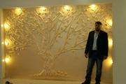 Декоративная штукатурка, барельеф, роспись стен - foto 3