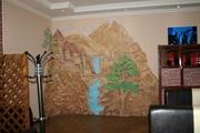Декоративная штукатурка, барельеф, роспись стен - foto 6